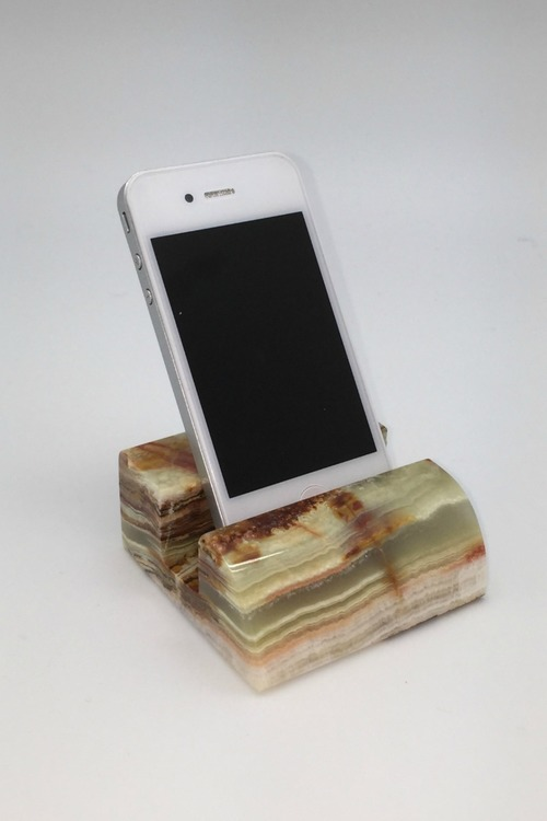 Green Onyx Cell Phone Dock