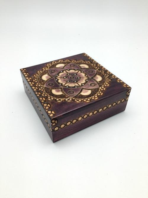 Chakra Luna Wood Box