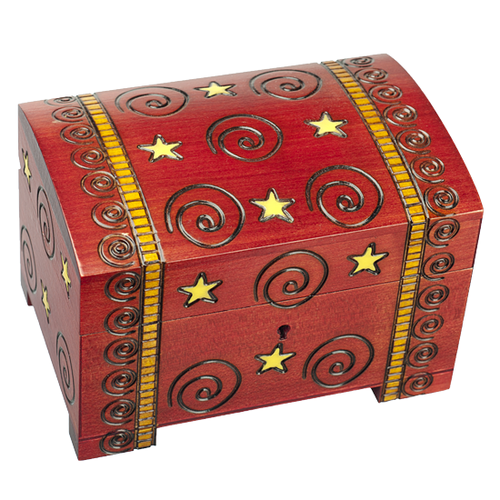 Andromeda Spiro Wooden Box