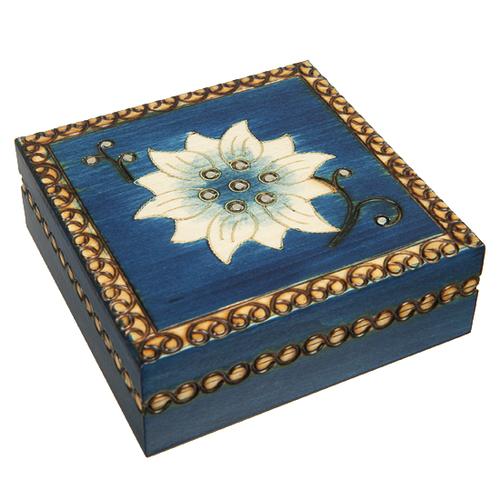 Chakra Tierra Wooden Box
