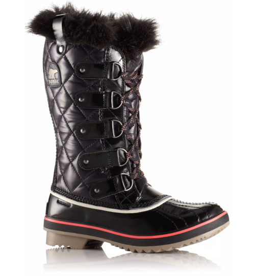 Sorel W Tofino Quilted Nylon Black