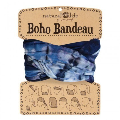 Navy & Denim Boho Bandeau