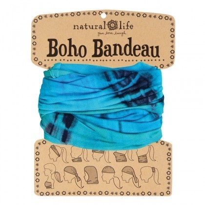 Turquoise & Blue Boho Bandeau