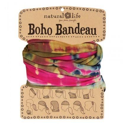 Olive & Pink Boho Bandeau
