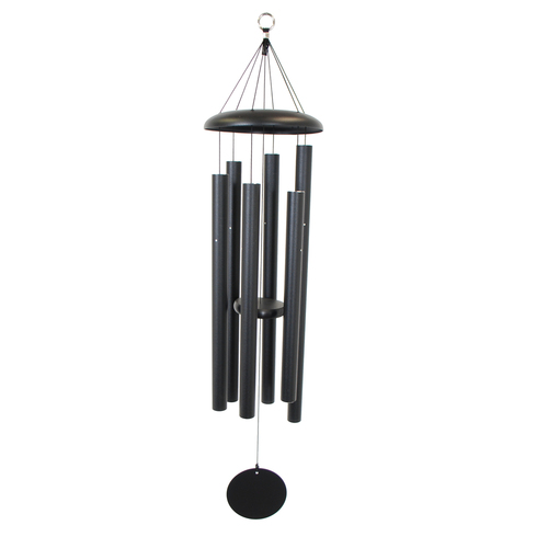 44 Inch Windchime Black