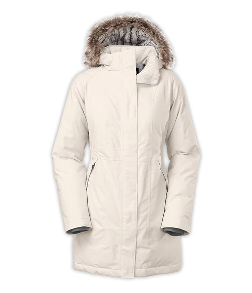 The North Face W Arctic Parka Vaporous Grey By The North