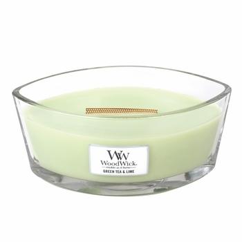 Green Tea & Lime Hearthwick Flame Candle