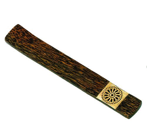 Palmwood Mandala Incense Holder