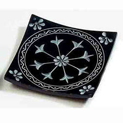 Flower Mandala Incense Plate