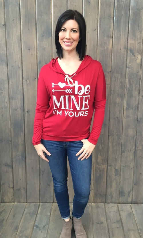 Be Mine I'm Yours Hoodie