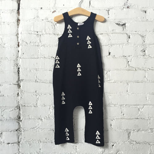Triangles Woodland Jumpsuit