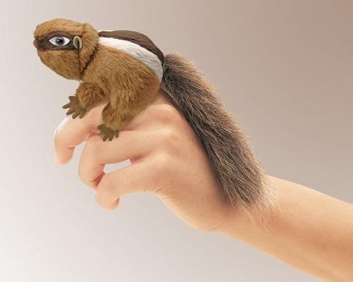Mini Chipmunk Finger Puppet