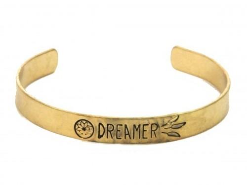 Dreamer Cuff Bracelet Gold