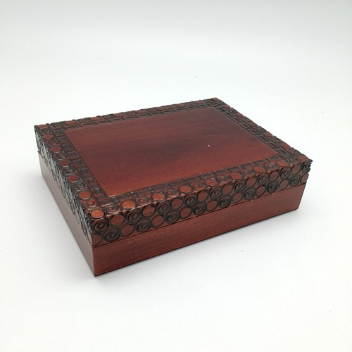 Simply Brown Wooden Box