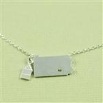 Silver Pennsylvania Necklace