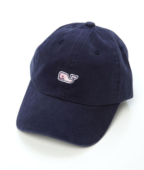 Vineyard Vines Whale Logo BB Hat Vineyard Navy
