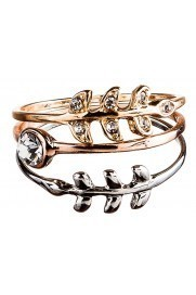 3 Piece Crystal Ring