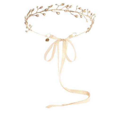 Calliope - Gold Branch Diadem