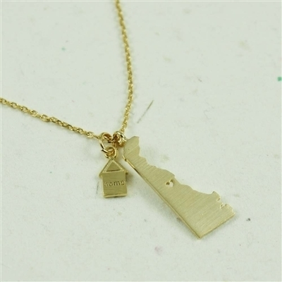 Gold Delaware Necklace