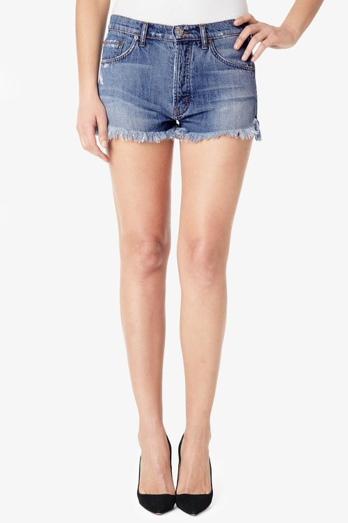 Tori Slouch Cut Off Short