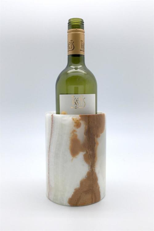 Green Onyx Wine Chiller/Utensil Holder