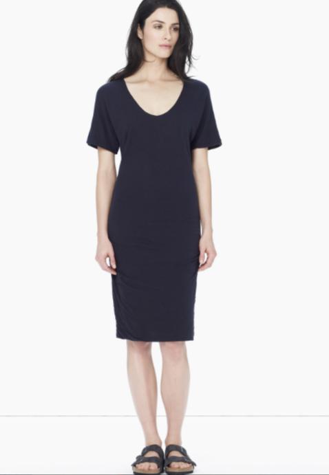 Crepe Jersey Dolman Dress