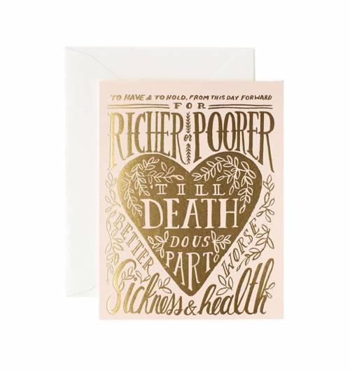 Till Death Do Us Part Card
