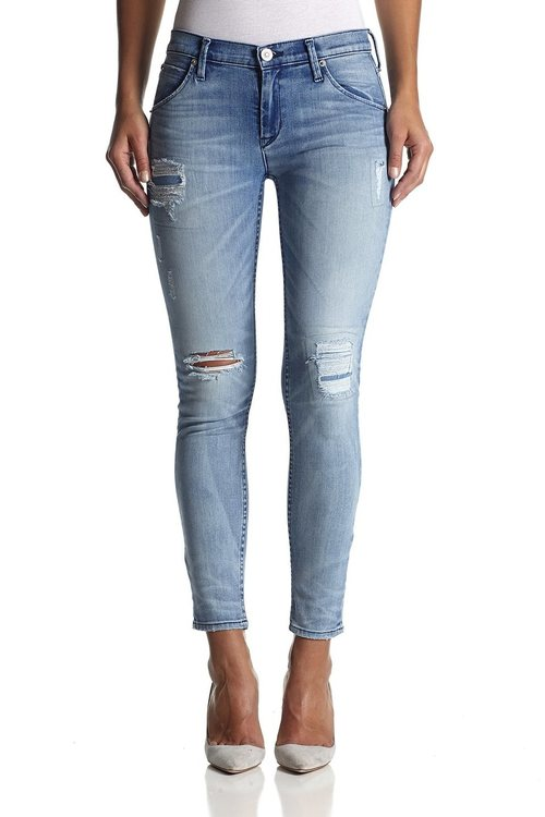 Lilly Midrise Ankle Skinny