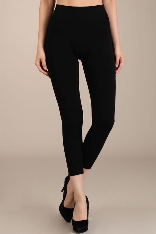 Black Cropped Leggings