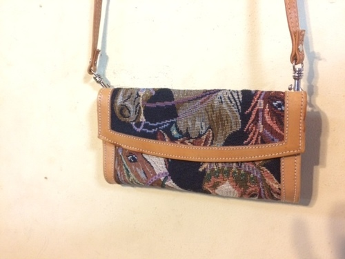 Consignment clutch/purse
