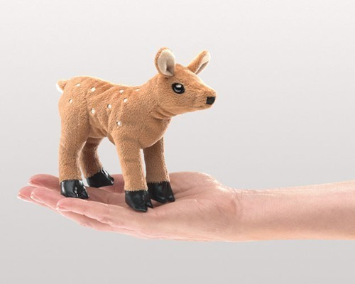 Mini Fawn Finger Puppet