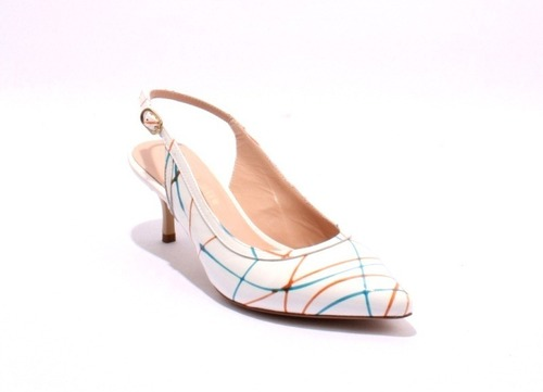 Multi-Color Patent Leather Slingbacks Pointy Pumps