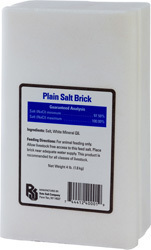 PLAIN SALT BRICK FOR LIVESTOCK
