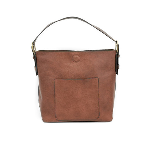 Cognac Hobo Brown Handle Handbag