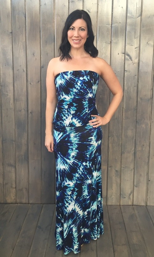 Oceana Dropwait Maxi Dress