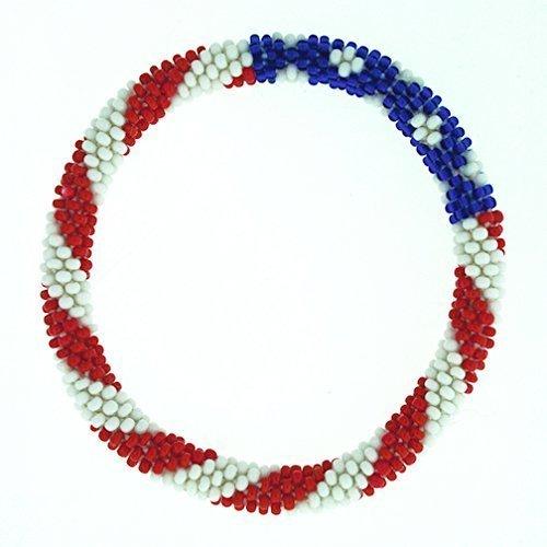 American Flag Roll On Bracelet