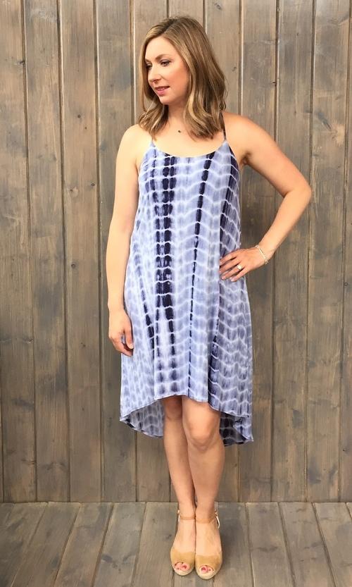 Tie Dye Corchet Back Dress