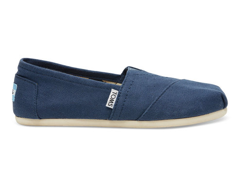 TOMS Classic Canvas Navy
