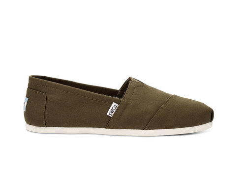 TOMS Classic Canvas Olive