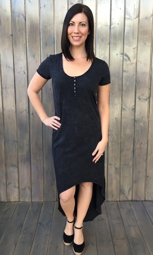 Gabriela High Low Shirt Dress