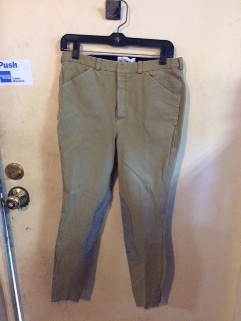 Consignment Men's Breeches Tuff Rider Tan 32R
