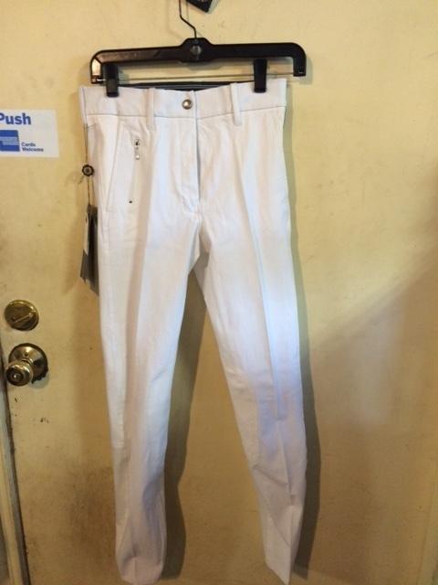 Consignment White Pessoa Breeches 28