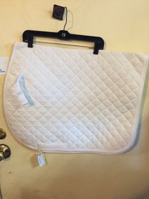 Consignment White Baby Pad