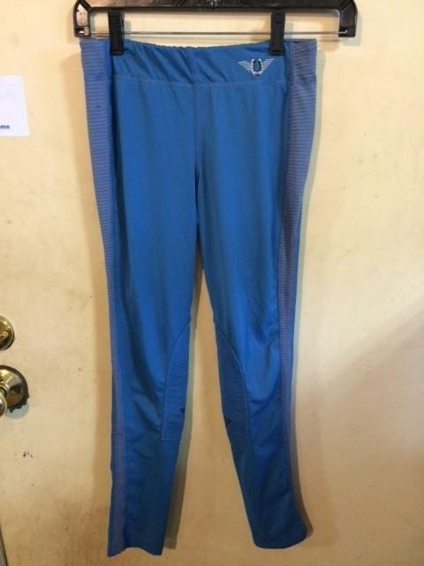 Consignment Tuff Rider Pants Blue Kids XL