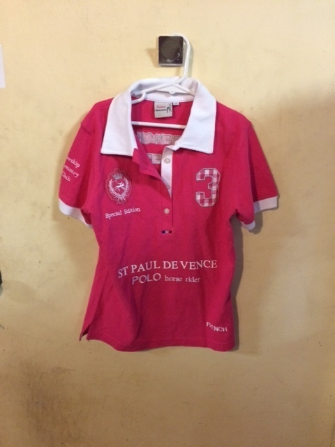 Consignment Childrens Polo Pink