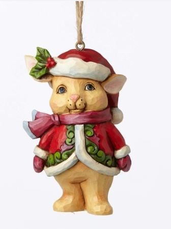 Christmas Mini Bunny Ornament