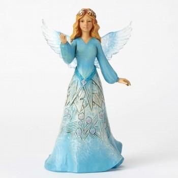 Snowflake Angel Figurine