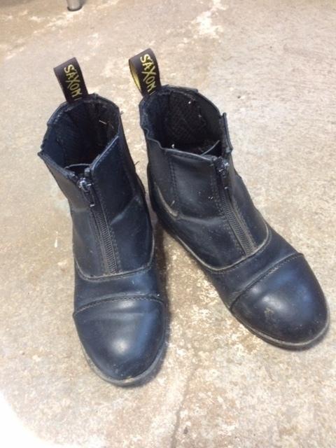 Consignment Saxon Paddock Boots Child 2