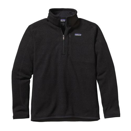 Patagonia M Better Sweater Quarter Zip Black