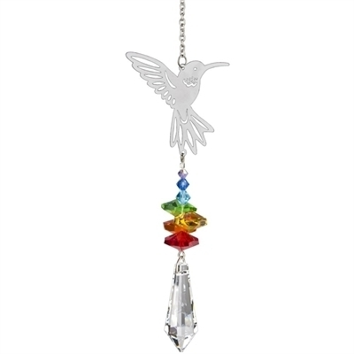 Crystal Fantasy Suncatcher Hummingbird
